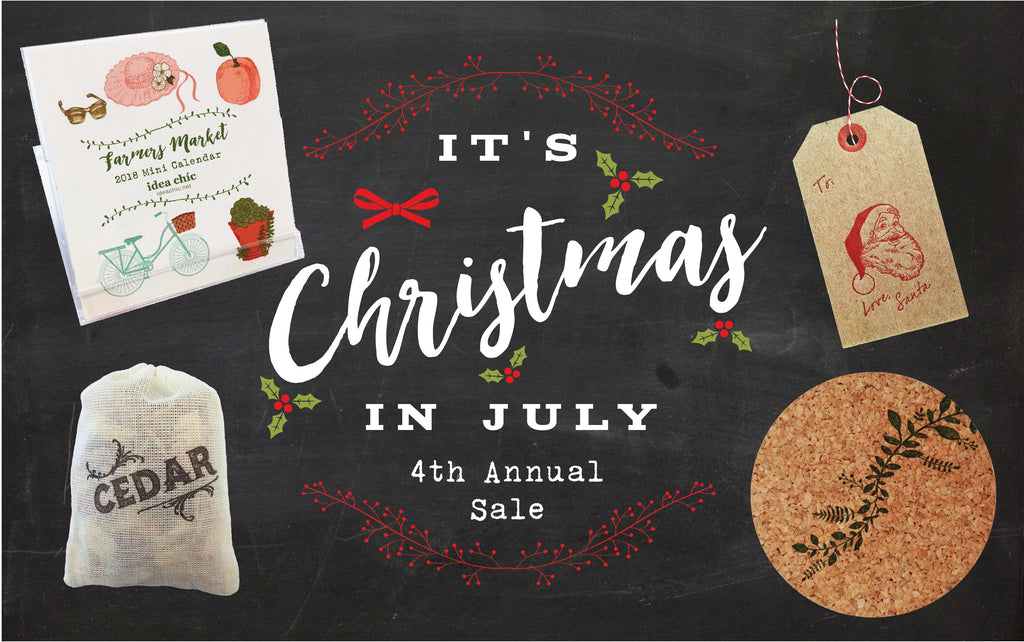 2017 Christmas in July Sale