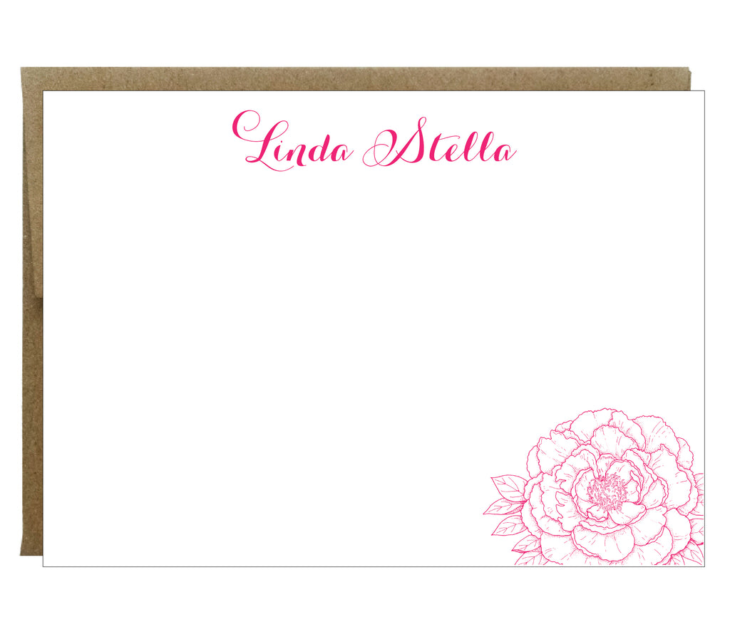 personalized stationery note cards idea chc - Personalized Stationery Cards