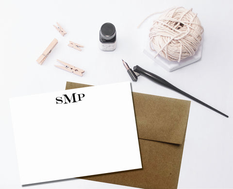 Personalized Stationery Note Cards - Idea Chíc