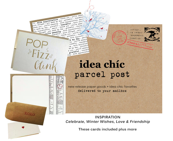 Idea Chíc Parcel Post Seasonal Subscription