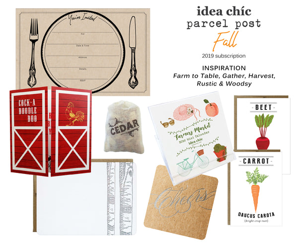 Idea Chíc Parcel Post Seasonal Subscription - Idea Chíc