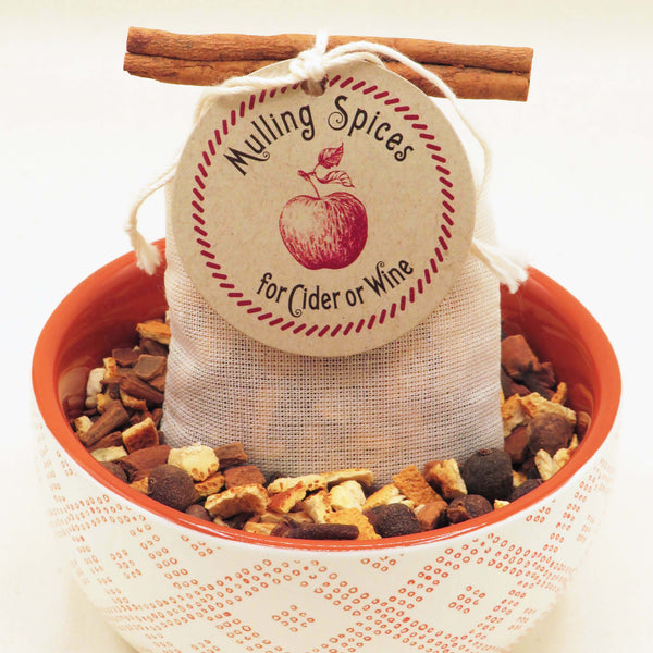 Mulling Spices Sachet - Gift For Home, Fall or Winter Wedding Favor - Idea Chíc