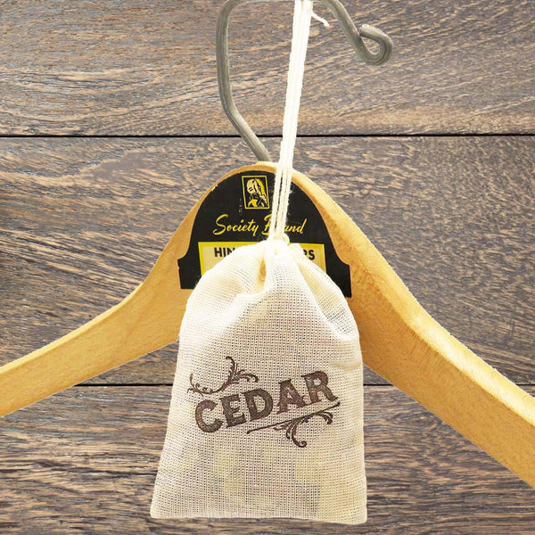 Cedar Sachet - 3 Pack for Closet, garment bag or Drawer - Idea Chíc