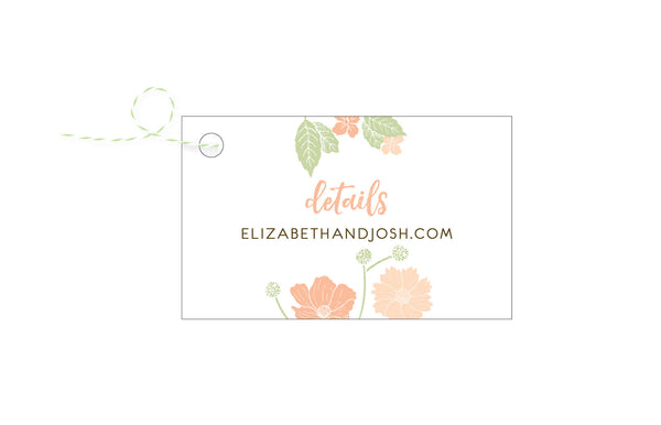 Floral Bouquet Wedding Invitation Collection - IdeaChic  - 5