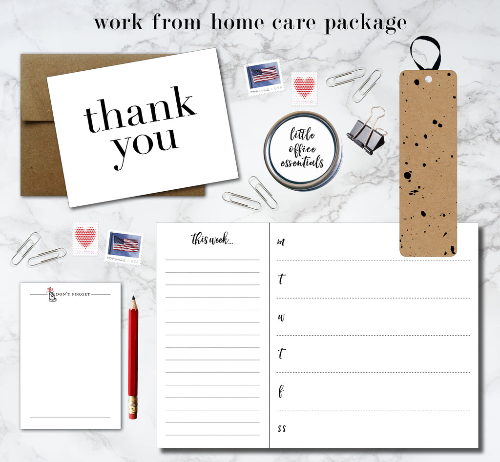 Work From Home Care Package - Idea Chíc