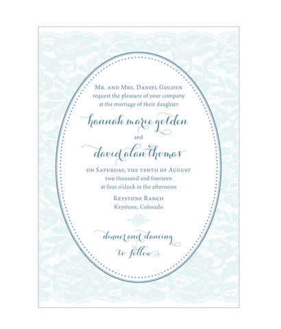 Whimsical Lace Wedding Invitation Collection - Idea Chíc