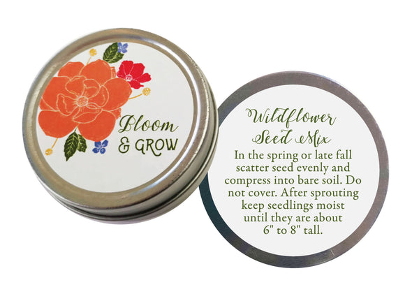 Bloom and Grow Seed Tins - 3 pack - IdeaChic  - 3