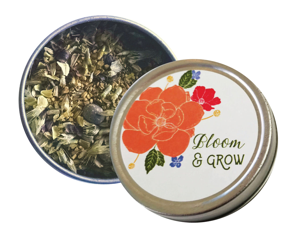 Bloom and Grow Seed Tin Party Favors - Idea Chíc