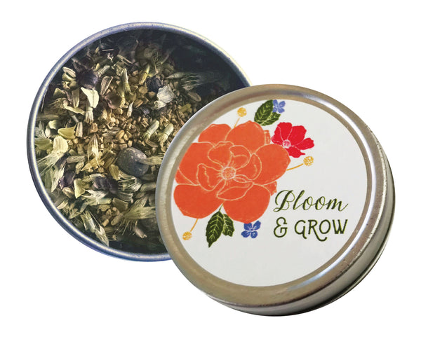 Bloom and Grow Wildflower Seed Tins - Idea Chíc