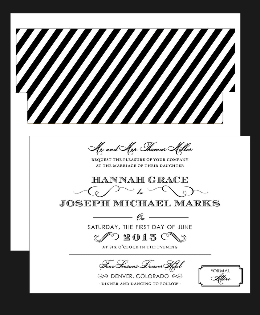 Vintage Elegance Great Gatsby Inspired Wedding Invitation Collection ...