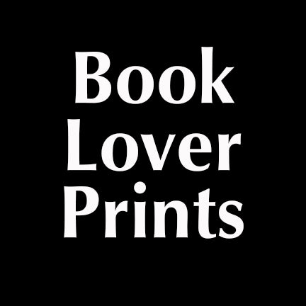Book Lover Prints