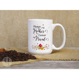 Always my Mother Swirls Mug - FREE Shipping!