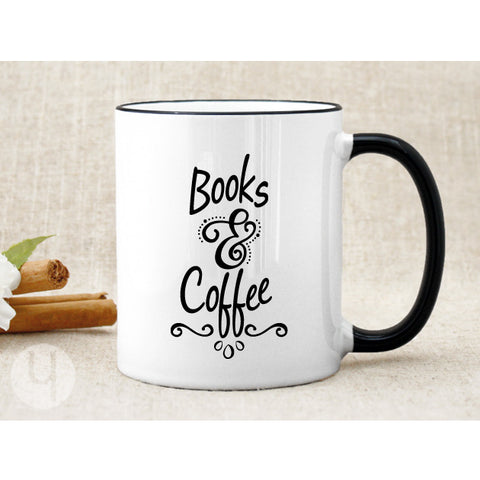 Books & Coffee Mug - FREE Shipping!