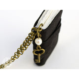 Ebony Black MiniBook Necklace MBEB-101