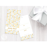 party dots birthday gift tags