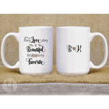 Our love story... Personalized Mug - FREE Shipping
