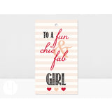 Personalized Fun, Chic, & Fab Gift Tags