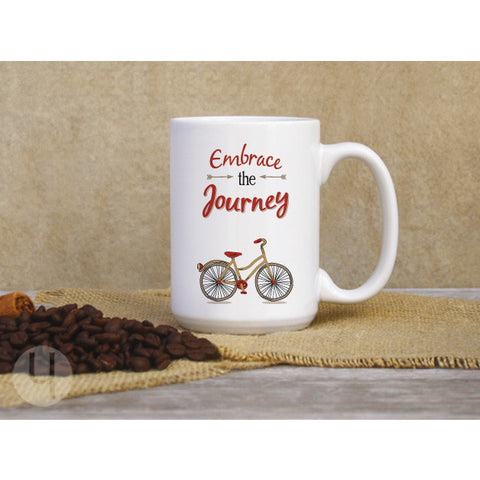 Embrace the Journey Large Coffee Mug - FREE Shipping!