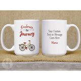 Personalized Embrace the Journey Mug - FREE Shipping