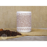 A Sip of Literature Word Search Mug - FREE Shipping!