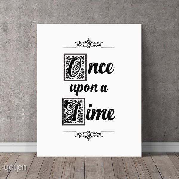 Once upon a Time - Print - FREE Shipping