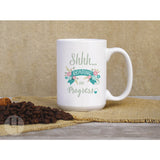 Shhh... Reading in Progress Coffee Mug - FREE Shipping