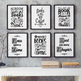 Yoyen Book Lover Prints Collection