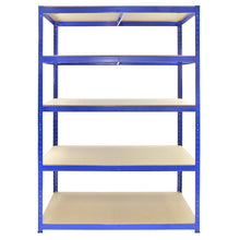 Load image into Gallery viewer, Racking T-Rax Strong Storage Shelves, Blue, 120cm W, 60cm D