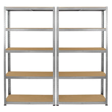 Load image into Gallery viewer, Racking 2 x Galwix Galvanised Steel Shelves, 75cm Wide