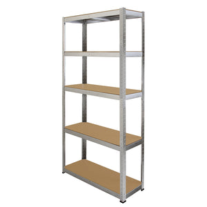 Racking 2 x Galwix Galvanised Steel Shelves, 75cm Wide