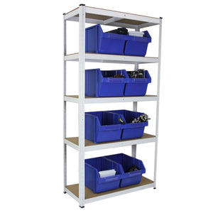 3 x E-Rax White Racking