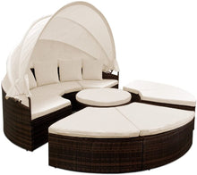 Load image into Gallery viewer, Rattan Sun Day Bed