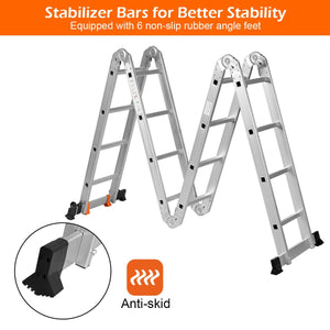 Aluminium Folding Ladder Step Ladder