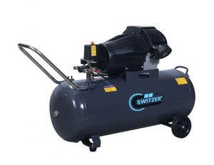 Air Compressor 3HP Twin 100L