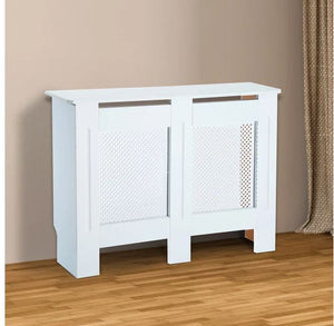 MDF Radiator Cover-diamond shape 111.5L X 19W X 82H cm