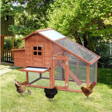 Load image into Gallery viewer, Wooden Rabbit/ Chicken Coop