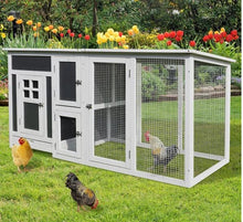 Load image into Gallery viewer, Chicken Coop, 160Lx75Wx80H cm