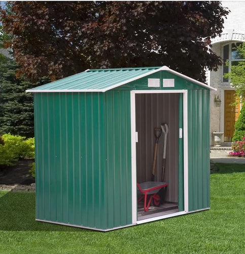 Metal 7ft x 4ft Garden Shed
