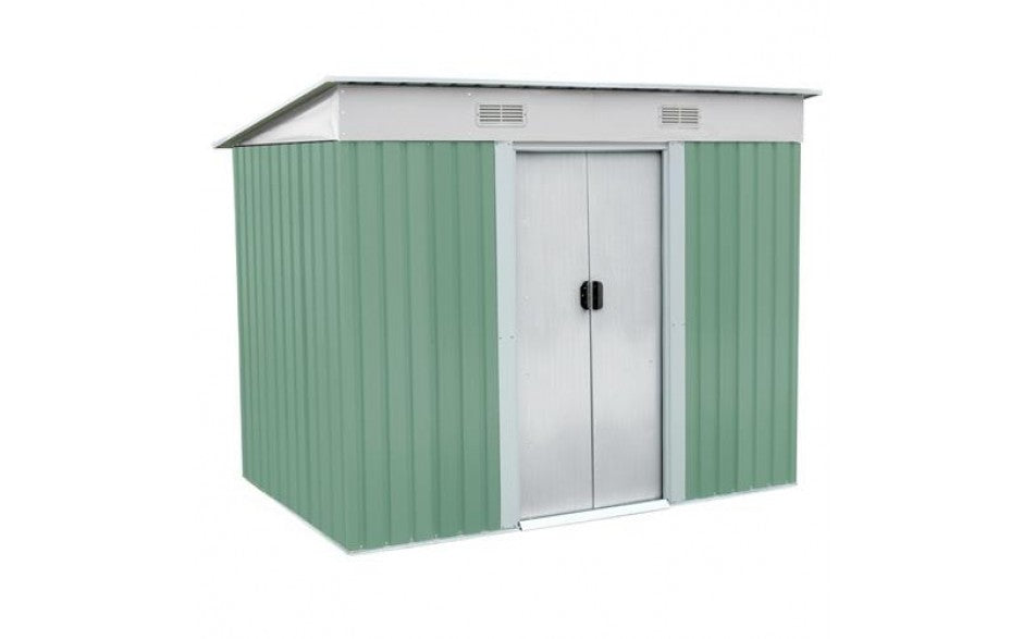 Garden Shed Metal Pent Roof 4FT X 6FT