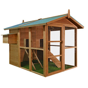Wooden Chicken Coop House