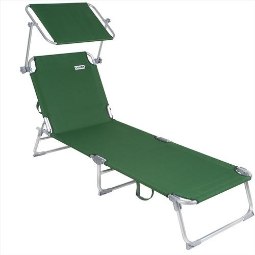 Sun Lounger  recliner sun shade