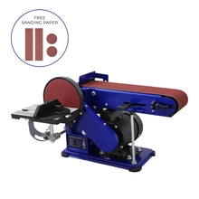 Load image into Gallery viewer, Bench Belt Sander 375W