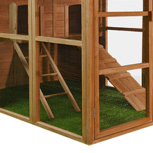 Load image into Gallery viewer, Wooden Chicken Coop House