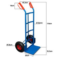 Load image into Gallery viewer, Industrial Hand Trolley Barrow Cart 200kg