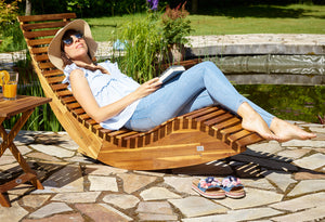 Ergonomic Sun Lounger