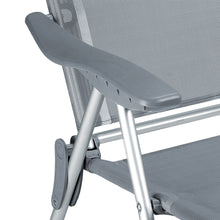 Load image into Gallery viewer, 2x Aluminium High Chair Recliner