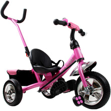 Load image into Gallery viewer, Kids Trike  Metal with Push Bar