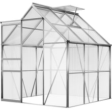 Load image into Gallery viewer, Greenhouse Aluminium 6x6ft incl. Base