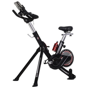 Spinning Flywheel Exercise Bike