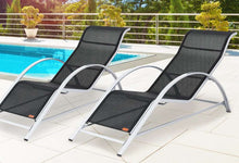 Load image into Gallery viewer, Sun Lounger Set Siena - 2x Loungers & Table